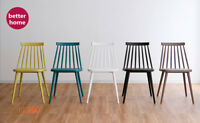 Dining  plastic  abs  chairs retro   cafe bar