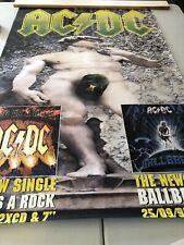 AC/DC Subway Poster **Album Release** 1995
