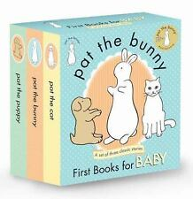 Touch-And-Feel: Pat the Bunny : First Books for Baby by Dorothy Kunhardt...