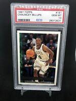 1997 Topps Basketball #181 Chauncey Billups Celtics RC Rookie PSA 10 GEM MINT