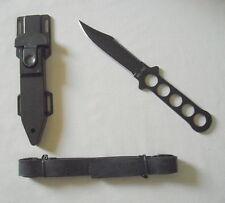 """Tauchermesser """" Stainless"""" mit Kunststoffscheide+Beinholster,Beinscheide Miltec"""