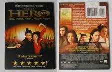Jet Li Hero U.S. dvd in standard case, Like New