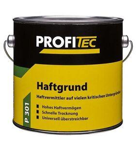 Profitec Haftgrund P 301 Bautenlack 2,5 Liter PU-Acryl-Grundierung innen außen