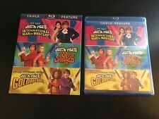 Austin Powers Triple Feature  (Blu-ray, 3-Disc Set) Mike Myers, with Slipcover