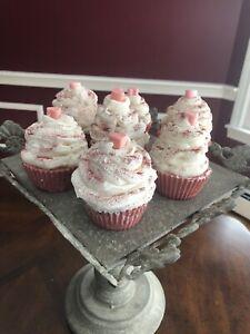 Valentine Cupcake Soap - Vegan Soap