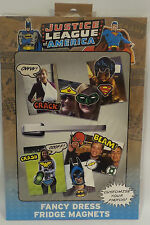 DC COMICS : JUSTICE LEAGUE OF AMERCIA FANCY DRESS FRIDGE MAGNETS (TK)