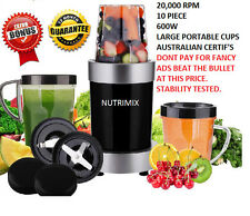 Nutrimix 600W HEALTHY BLEND MOTOR SPHERICAL Nutri Bullet style Extractor BLADES