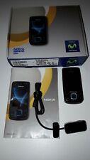 Teléfono móvil Nokia 6600 slide con caja, cargador y accesorio