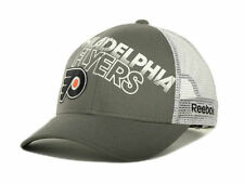 REEBOK NH34Z NHL TNT MESHBACK TRUCKERS HOCKEY HAT/CAP - PHILADELPHIA FLYERS
