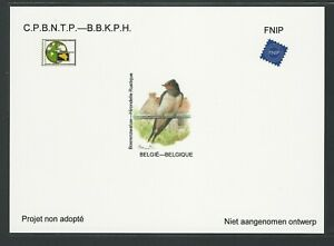 Belgium Non adopted proof - Barnswallow - By A. Buzin. NA38 (2018)