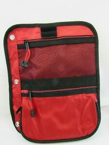 Case it Locker Accessory Large Size Pencil Pouch Red PEN 03 33015