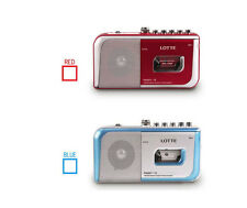 Lotte Casette Portable Tape Recorder Player For Listening Music Language Study