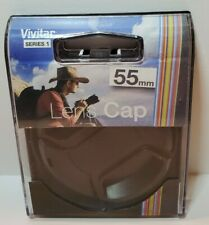 55mm Snap-On Lens Cap Vivitar Series 1 Camera New in Open Package Free Shipping