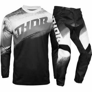 Thor MX 2021 Sector Vapor Black/White Motocross Gear Set