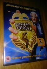 THE NAKED GUN MOVIE TRILOGY ON DVD LESLIE NIELSEN FILM