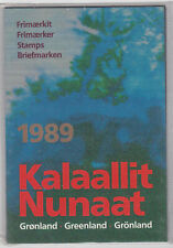 Greenland 1989 Year Pack of Stamps