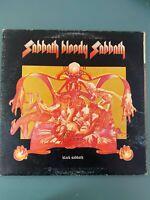 """Black Sabbath – Sabbath Bloody Sabbath 12"""" Vinyl 1973 Gatefold Aussie Press."""