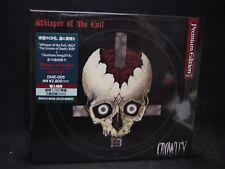 CROWLEY Whisper Of The Evil JAPAN CD + 2DVD (PREMIUM EDITION VER. 2) Black HM
