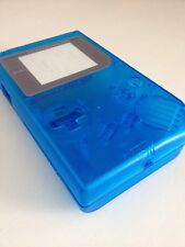 Clear Blue Nintendo Game Boy Original DMG-01 Replacement Shell/Housing + Tools