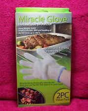 Miracle Glove Hot Surface Protector One Pair (2 total items) New & Sealed In Box