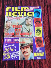 FILM REVIEW MAG -JOHN TRAVOLTA - OLIVER REED-JOAN COLLINS - DEC 1978