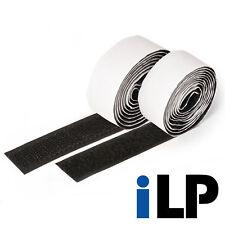 Klettband schwarz selbstklebend 1 Meter lang 20 mm breit extra starke Fixierung