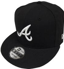 NEW Era Atlanta Braves black white logo snapback cap 9 FIFTY Limited Edition MLB
