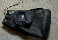 Akona Adventure Gear Black Mesh Backpack Scuba Snorkeling / Storage /Camping