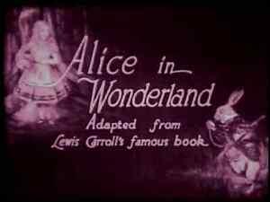 Alice in Wonderland 1915 Silent movie (Tinted Version) DVD