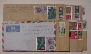 BARBADOS  22 SMALL COVERS REGISTERED TO USA