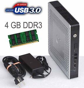 LAUTLOS COMPUTER HP T610 TPC-W006-TC 4GB DDR3 2x SATA USB 3.0 696455-001 +NT T61