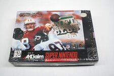 NFL Quarterback Club 96 (Super Nintendo, Snes) Brand New Sealed