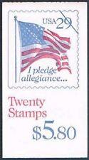 Etats Unis Sc  Bk197 Pledge Of Allegiance Booklet