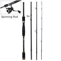 Carbon Fiber Lure Fishing Rods M Power Ultra Light Spinning Travel Fishing Pole