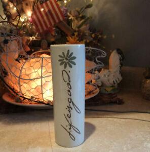 Life Is Good * Ceramic Vase * No Crack or Chips