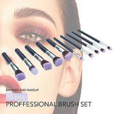 Make up Brushes Powder Set Foundation Blusher Kabuki Style Professional