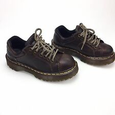 Dr Doc Martens 8312 Brown Low Air Wair Oxford Shoes Boots US Mens 5 Womens 6