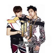 INFINITE H-[FLY AGAIN] 2nd Mini Album CD+Poster(On pack)+Photo Card K-POP Sealed