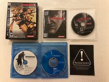 Metal Gear Solid 4 Guns of the Patriots (Sony Playstation 3) PS3 Limited Edition