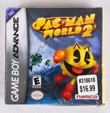NEW Pac Man World 2 (Nintendo Game Boy Advance) Video Game by Namco, 2002