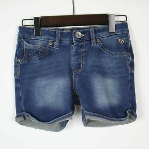 JUSTICE Girls Denim Premium Jean Shorts 12S