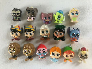 Disney doorables series lot Peter Pan Pinocchio Zootopia Lilo Stitch Wendy Mike