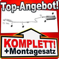 Anbauteile Rohr MTS Auspuff Set FORD Fiesta V 1.25 16V 1.6 16V inkl NSD