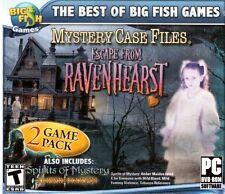 JC MYSTERY CASE FILES ESCAPE RAVENHEA by Big Fish - 2012 - CD
