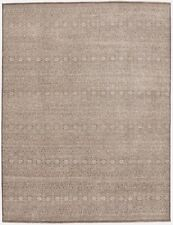 """Han-knotted Indian rug. 9'2""""x 12'"""