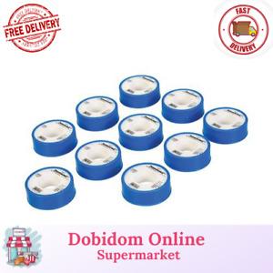 Silverline White PTFE Thread Seal Tape 10pk 12mm x 12m 250475