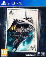 PS4 Spiel Batman: Return to Arkham Neuware PlayStation 4 Spiele Videospiele Game