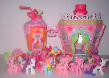 My Little Pony Ponyville Lot Ice Cream Diner & Hair Salon / Spa