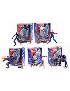Spider Man Marvel Rare FIGURES - - - - - Kaiyodo Vignette ultimate Japanese set