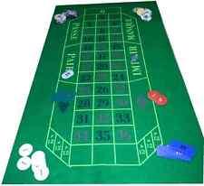 Verde Panno Verde LAYOUT per roulette e Black Jack